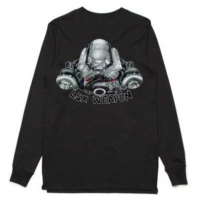 Holden LSX Weapon adult long sleeve tshirt