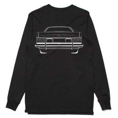 LX Torana Silhouette adult long sleeve shirt