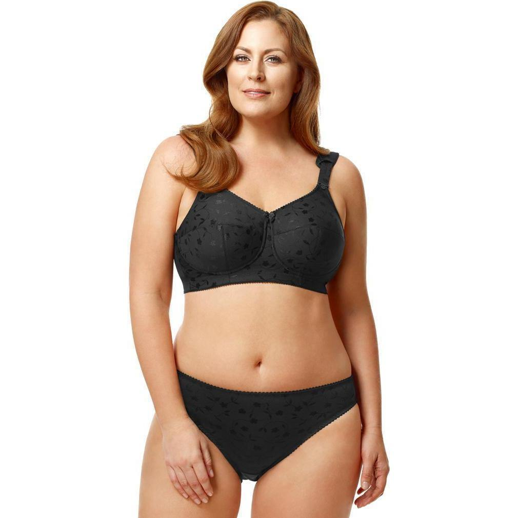 Elila Jacquard Softcup Black - Cherry Blossom Intimates