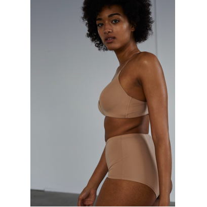 Blush Look My Way High Waist Brief - Cherry Blossom Intimates