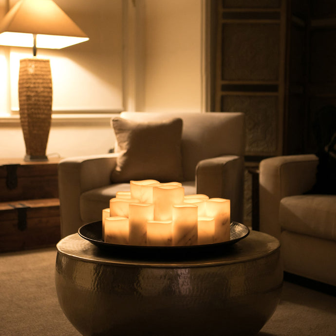 Creating Ambience With Flameless Candles