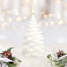 Load image into Gallery viewer, UYUNI LIGHTING Collection - Remote Enabled Nordic White Wax Christmas Tree