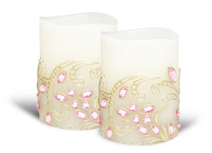 LAST SET - ENJOY Designer Series Embossed and Embellished Limited-Edition Couture Collection Duo
