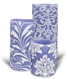 ENJOY Embossed Hand Painted Limited-Edition Designer Vignette