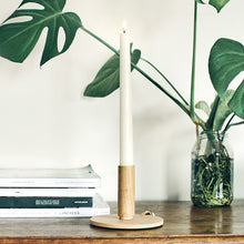 Load image into Gallery viewer, UYUNI LIGHTING Collection - Classic Ivory Smooth Wax Tall Taper Remote Enabled - Pack of 2