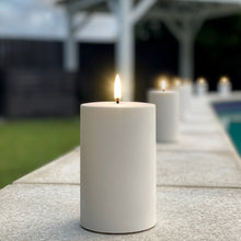 Load image into Gallery viewer, UYUNI LIGHTING Outdoor Collection - White Outdoor Flameless Candle