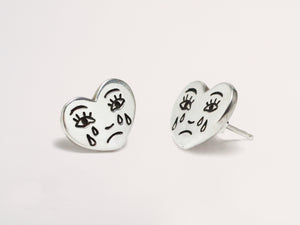 Grimm Studs Sterling Silver