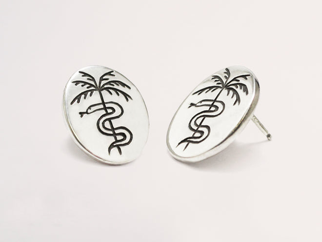 Paradise Studs Sterling Silver
