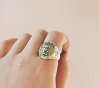 Paradise Signet Sterling Silver