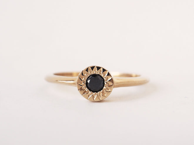 Black Diamond Starlight Solitaire
