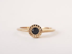 Black Diamond Starlight Solitaire *READY TO SHIP*