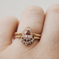 Peach Dolly Ring