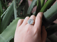 Paradise Signet Silver Size 9 *READY TO SHIP*