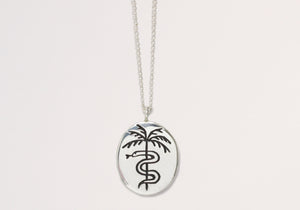 Paradise Necklace Sterling Silver