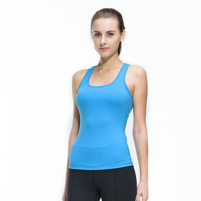 Compressed Sleeve Less Tank
