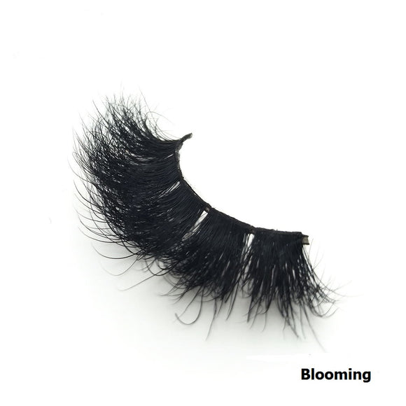 100% Handmade 3D Mink Hair Eyelashes-Blooming