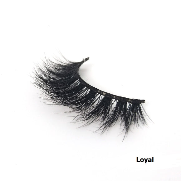 100% Handmade 3D Mink Hair Eyelashes-Loyal