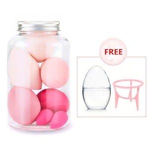 Egg-Shaped Makeup Sponges
