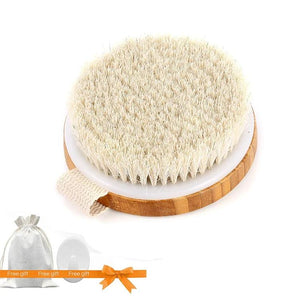Dry Skin Bamboo Brush