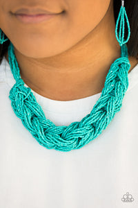 WRAP Battle Blue Necklace Set