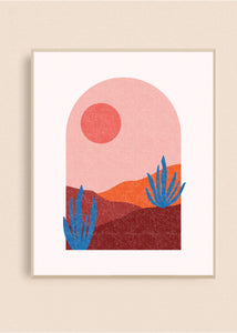 Arch Sunset 8x10 Art Print