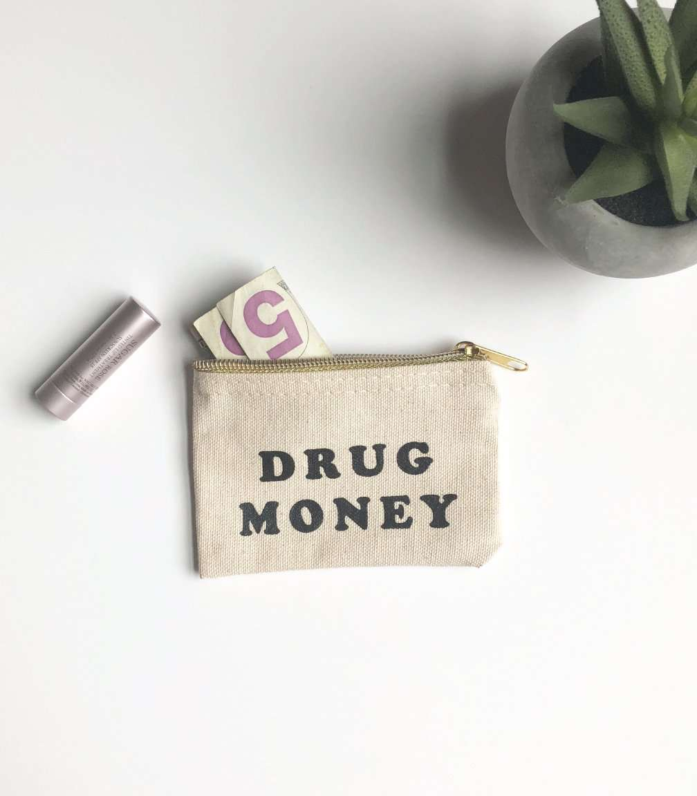 Drug Money Coin Pouch