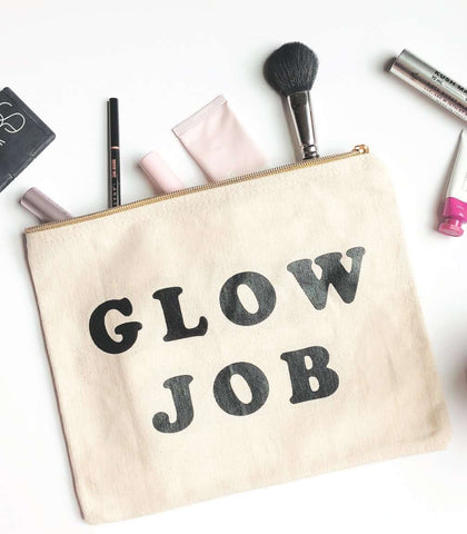Glow Job Makeup Pouch