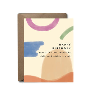 Life Alert Birthday Greeting Card | A2