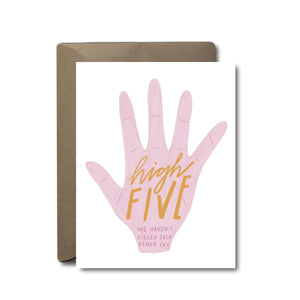 High Five Love Greeting Card | A2