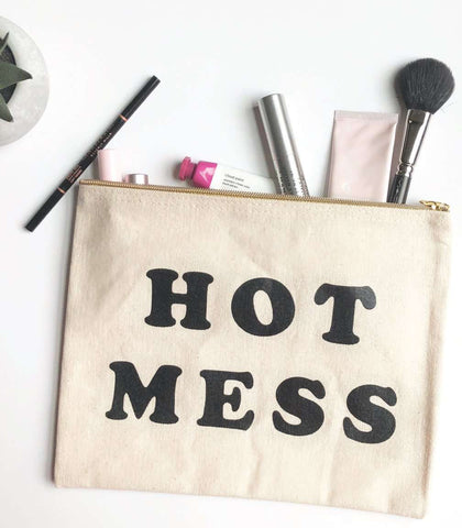 Hot Mess Makeup Pouch