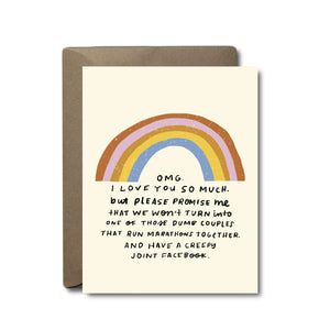 Joint Facebook Love Greeting Card | A2