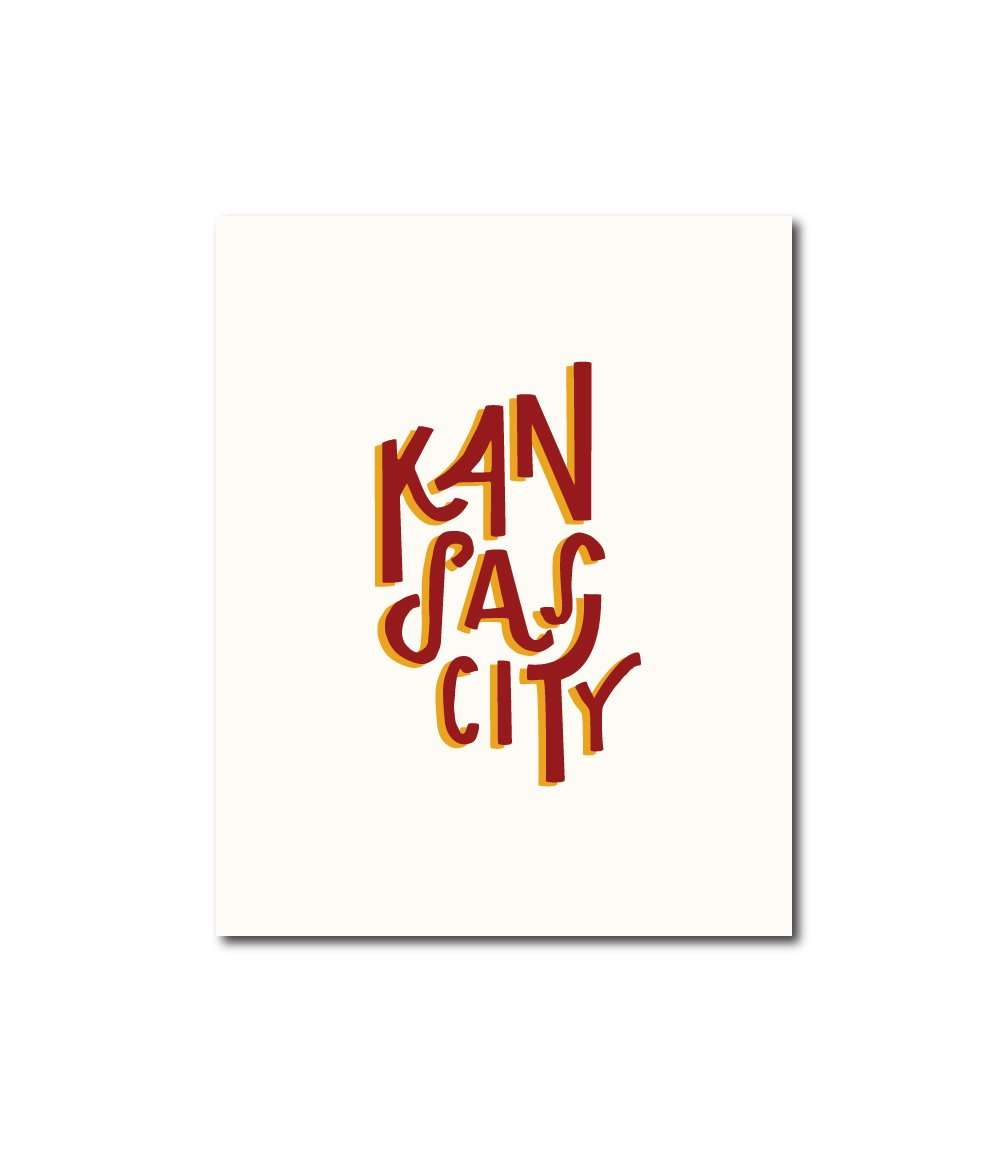 Kansas City Shadow Chiefs Wall Art Print