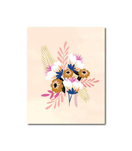 Floral Series No.2 Wall Art Print