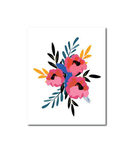 Floral Series No.3 Wall Art Print