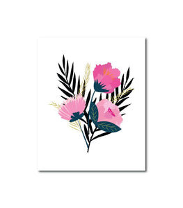 Floral Series No.5 Wall Art Print