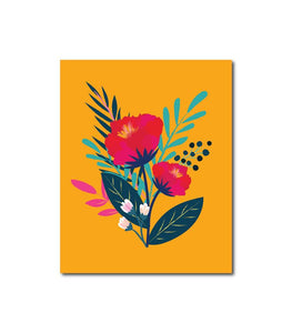 Floral Series No.4 Wall Art Print
