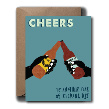 Cheers to Another Year Birthday Greeting Card | A2
