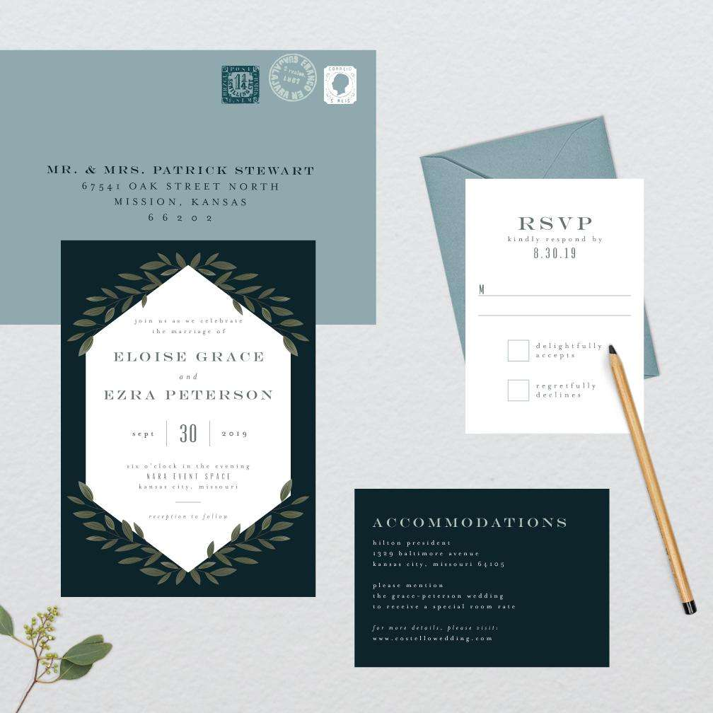 Elegant Vines Wedding Suite