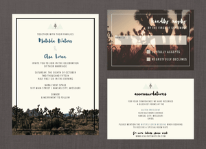 Modern Joshua Tree Desert Wedding Suite