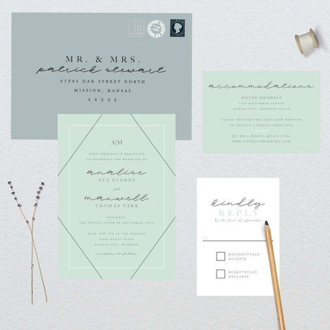 Classic Mint Wedding Suite