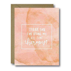 Funny Therapist Mother's Day Seasonal Greeting Card | A2