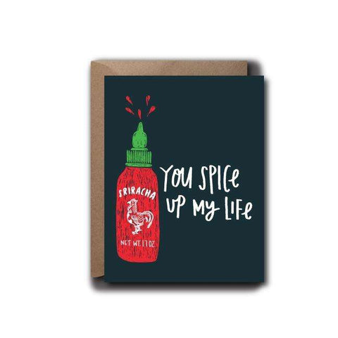Spice Up My Life Love Greeting Card | A2
