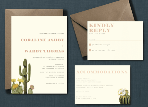Vintage Desert Wedding Suite