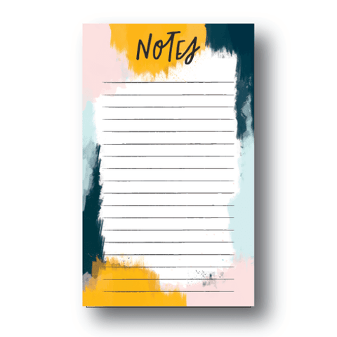 Bold Abstract Notepad | 4.25x7 | 50 Sheets