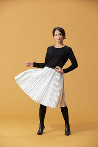 Presidential Pleated Skirt
