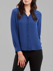 Windsor Blouse Royal Blue