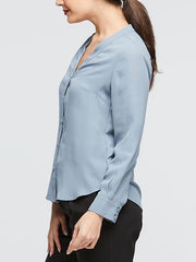 Windsor Blouse Duck Egg Blue