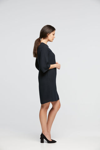 Keyhole Tunic Dress