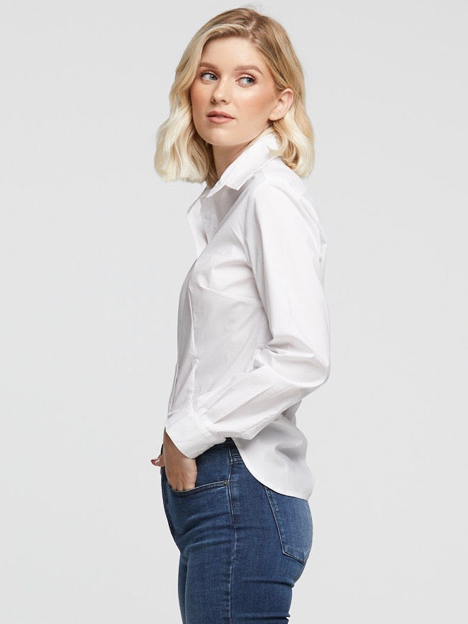 Classic White Tailored Shirt