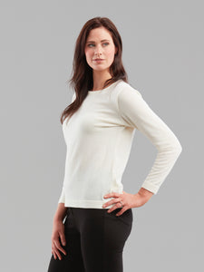 Ad Infinitum Knit in Winter White